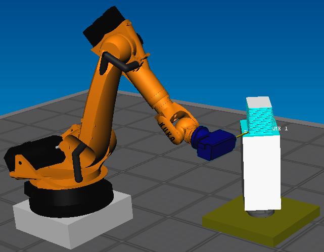 8 frezowanie robotem KUKA